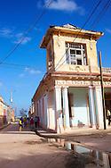 Old building in Gibara, Holguin, Cuba.