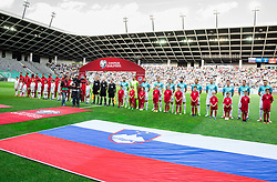 Players during football match between National teams of Slovenia and Malta in Round #6 of FIFA World Cup Russia 2018 qualifications in Group F, on June 10, 2017 in SRC Stozice, Ljubljana, Slovenia. Photo by Vid Ponikvar / Sportida