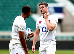 Ollie Devoto of England takes part in training at Twickenham ahead of the upcoming tour of Argentina - Mandatory by-line: Robbie Stephenson/JMP - 02/06/2017 - RUGBY - Twickenham - London, England - England Rugby Training