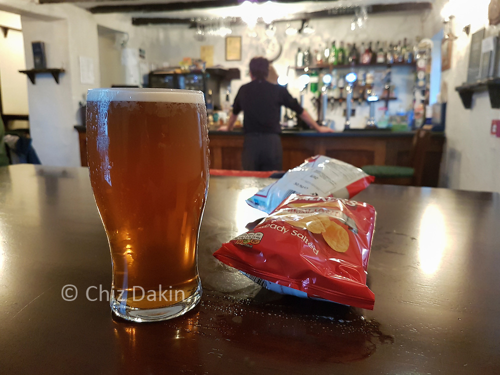 A well earned treat at the end of the route! (Ravenglass Inn)