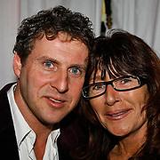 NLD/Uitgeest/20100118 - Uitreiking Geels Populariteits Awards van NH 2009, Pierre van Dam en partner