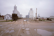 Oberlin Kansas silos
