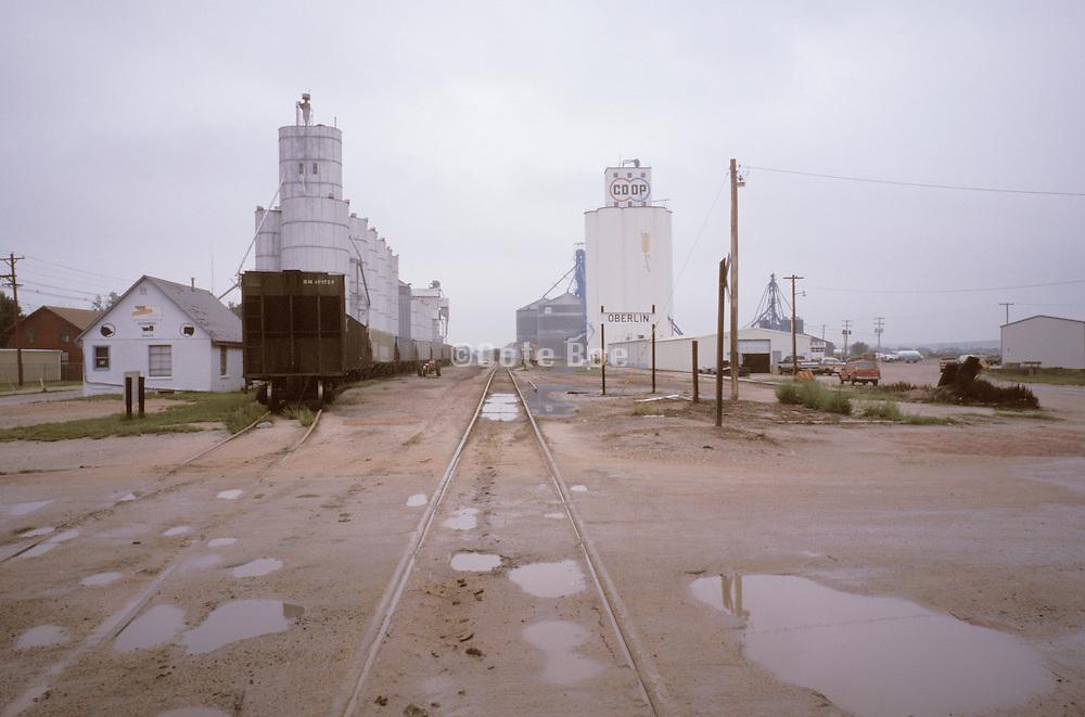Oberlin Kansas silos