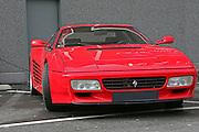 Ferrari Testa Rossa front view