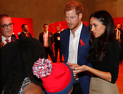 Prince Harry and Meghan Markle visit a Terrence Higgins Trust World AIDS Day charity fair at the Nottingham Contemporary, Nottingham, UK, on the 1st December 2017. Picture by Adrian Dennis/WPA-Pool. 01 Dec 2017 Pictured: Prince Harry, Meghan Markle. Photo credit: MEGA TheMegaAgency.com +1 888 505 6342