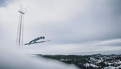 11.03.2020, Granasen, Trondheim, NOR, FIS Weltcup Skisprung, Raw Air, Trondheim, Herren, im Bild Michael Hayboeck (AUT) // Michael Hayboeck of Austria during men's 3rd Stage of the Raw Air Series of FIS Ski Jumping World Cup at the Granasen in Trondheim, Norway on 2020/03/11. EXPA Pictures © 2020, PhotoCredit: EXPA/ JFK