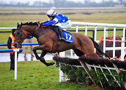 Western Ruler ridden by Rachael Blackmore wins the Farmhouse Foods Novice Handicap Hurdle during BoyleSports Irish Grand National Day of the 2018 Easter Festival at Fairyhouse Racecourse, Ratoath, Co. Meath.
