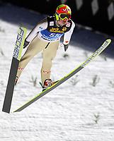Hopp<br /> Bischofshofen<br /> 05.01.2011<br /> Foto: Gepa/Digitalsport<br /> NORWAY ONLY<br /> <br /> FIS Weltcup, Vierschanzen-Tournee, Training und Qualifikation. <br /> <br /> Bild zeigt Tom Hilde (NOR)