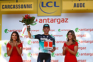 Podium, Rafal Majka (POL - Bora - Hansgrohe) during the 105th Tour de France 2018, Stage 15, Millau - Carcassonne (181,5 km) on July 22th, 2018 - Photo Luca Bettini / BettiniPhoto / ProSportsImages / DPPI