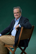 British writer and former BBC correspondent in India, Mark Tully, pictured at the Edinburgh International Book Festival where he talked about his latest book entitled 'India: The Road Ahead'. The three-week event is the world's biggest literary festival and is held during the annual Edinburgh Festival. The 2011 event featured talks and presentations by more than 500 authors from around the world..
