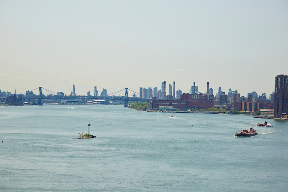 View of East River from 50 Sutton Place South, 17th floor