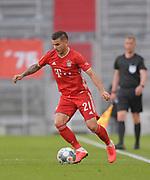 Lucas Hernandez (Bayern München) during the Bayern Munich vs Borussia Monchengladbach Bundesliga match at Allianz Arena, Munich, Germany on 13 June 2020.