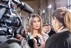 Malika Ménard former Miss France 2010 at the Tony Ward show as part of Paris Haute Couture Fashion Week Spring/Summer 2019-2020 on January 21, 2019 in Paris, France. Photo by KENDRICK/ABACAPRESS.COM