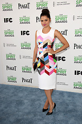 Melonie Diaz at the 2014 Film Independent Spirit Awards Arrivals, Santa Monica Beach, Santa Monica, United States, Saturday, 1st March 2014. Picture by Hollywood Bubbles / i-Images<br /> UK ONLY