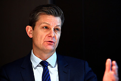 Chief Regulatory Officer of the British Horseracing Authority Brant Dunshea during the BHA Press Conference at Pullman Hotel St Pancras, London.