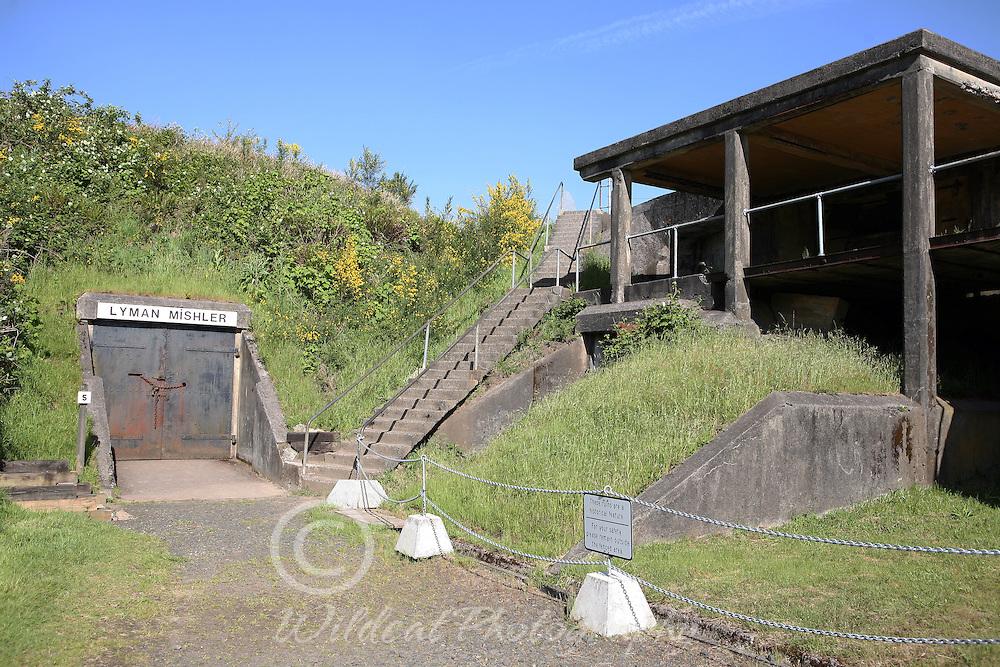 Fort Stevens Mishler Bunker