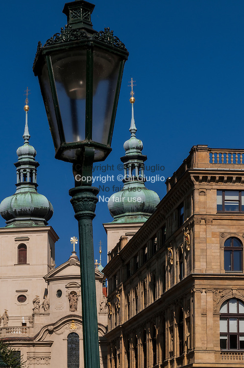 Czech Republic, Prague, old town Stare Mesto, Praha 1, Havelska church and place