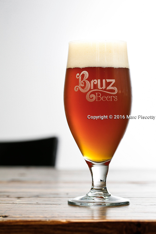 SHOT 7/22/16 2:32:32 PM - Bruz Beers is Denver's artisanal Belgian-style brewery, featuring a full line of traditional and Belgian-inspired brews, hand-crafted in small batches. (Photo by Marc Piscotty / © 2016)