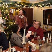 Taken at the Pitt Tavern Dinner during Candle Light Stroll at Strawbery Banke, December 2015