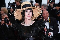 May 20, 2019 - Cannes, Provence-Alpes-Cote d'Azu, France - 72eme Festival International du Film de Cannes. Montée des marches du film ''La Belle Epoque''. 72th International Cannes Film Festival. Red Carpet for ''La belle Epoque'' movie.....239573 2019-05-20 Provence-Alpes-Cote d'Azur Cannes France.. Adjani, Isabelle (Credit Image: © Philippe Farjon/Starface via ZUMA Press)