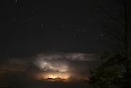Lightning and fireworks