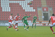 Alan Browne during the EFL Sky Bet Championship match between Rotherham United and Preston North End at the AESSEAL New York Stadium, Rotherham, England on 7 November 2020.