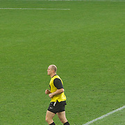 Mike Tindall training with the England team before the England V Georgia Pool B match during the IRB Rugby World Cup tournament. Otago Stadium, Dunedin New Zealand, 18th September 2011. Photo Tim Clayton.....