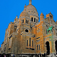Sacre Coeur, Sacred Heart Cathedral Paris France