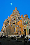 Sacre Coeur, Sacred Heart Cathedral Paris France