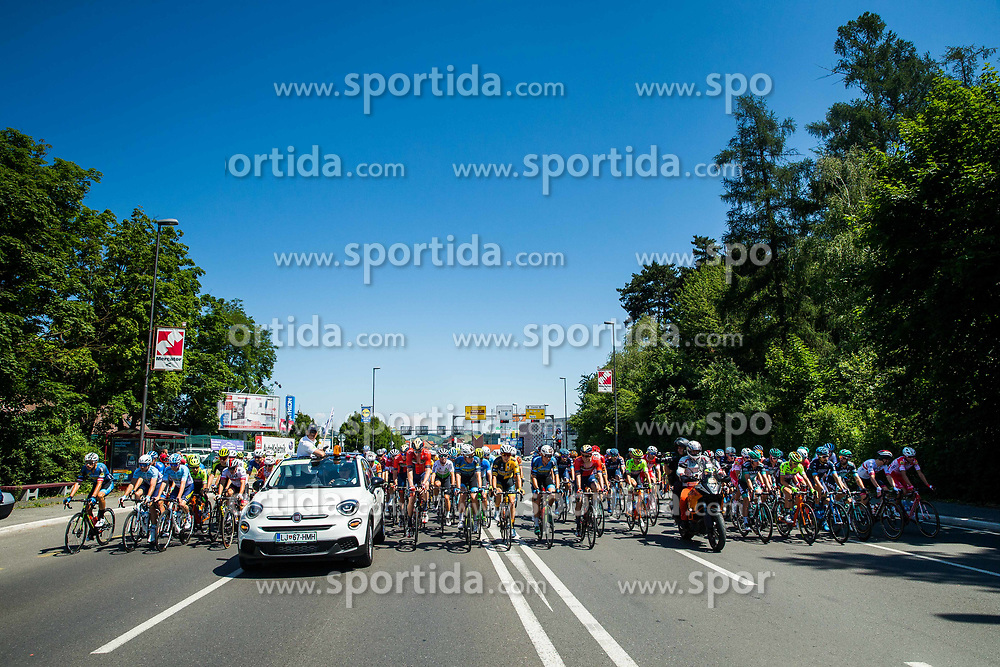 Peloton during 2nd Stage of 26th Tour of Slovenia 2019 cycling race between Maribor and  Celje (146,3 km), on June 20, 2019 in Celje, Maribor, Slovenia. Photo by Vid Ponikvar / Sportida