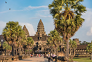 Angkor Wat, at Angkor Archaeological Park in Siem Reap, Cambodia.