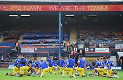 Bristol rovers warm up. - Mandatory by-line: Alex James/JMP - 15/09/2018 - FOOTBALL - Kenilworth Road - Luton, England - Luton Town v Bristol Rovers - Sky Bet League One