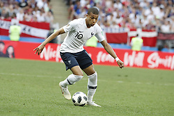 France's Kylian Mbappe during the 2018 FIFA World Cup Russia game, France vs Denmark in Luznhiki Stadium, Moscow, Russia on June 26, 2018. France and Denmark drew 0-0. Photo by Henri Szwarc/ABACAPRESS.COM