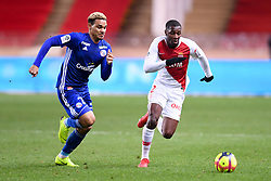 January 19, 2019 - Monaco, France - 02 FODE BALLO TOURE (MONA) - 27 KENNY LALA  (Credit Image: © Panoramic via ZUMA Press)