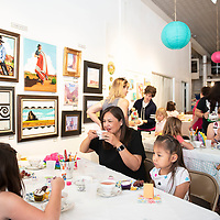 A Mother's Day Craft-Tea event inside the Art123 gallery,  Saturday May 4, in Gallup.