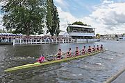 Henley, GREAT BRITAIN, 2012  Princess Elizabeth Challenge Cup, M8+, Abingdon School, race past Stewards' Enclosure, in the Semi-Final. Saturday  14:47:12  30/06/2012    [Mandatory Credit, Intersport Images]. ...Rowing Courses, Henley Reach, Henley, ENGLAND . HRR