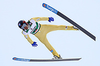 Kombinert<br /> FIS World Cup<br /> November 2017<br /> Foto: Gepa/Digitalsport<br /> NORWAY ONLY<br /> <br /> KUUSAMO,FINLAND,26.NOV.17 - NORDIC SKIING, NORDIC COMBINED, SKI JUMPING - FIS World Cup, Ruka Nordic Opening, large hill. Image shows Magnus Hovdal Moan (NOR). Photo: GEPA pictures/ Matic Klansek