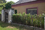 Abandoned home and land in the village of Bakonygyirot, Gyor-Moson-Sopron,  Hungary