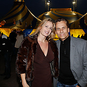 NLD/Amsterdam/20101007 - Europesche premiere Cirque du Soleil Totem, Robert Schoemacher en partner Claudia van Zweden