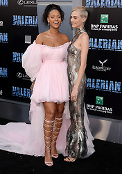 World Premiere of Valerian and the City of a Thousand Planets. 17 Jul 2017 Pictured: Rihanna, Cara Delevingne. Photo credit: MEGA TheMegaAgency.com +1 888 505 6342