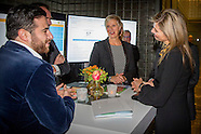 Queen Maxima during the launch of ''The State of the MKB'' at the Malietoren, The Hague 23-11-2015