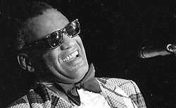 May 19, 1977 - Memphis, TN, U.S. - The genius of RAY CHARLES was on display at the Airport Hilton Hote, in Memphis,  May 19, 1977.  (Dave Darnell/The Commercial Appeal (Credit Image: © The Commercial Appeal/ZUMApress.com)