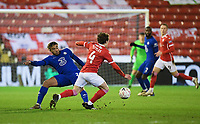 Football - 2020 / 2021 Emirates FA Cup - Round Five - Barnsley vs Chelsea - Oakwell Stadium<br /> <br /> Barnsley's Callum Styles evades the tackles of Chelsea's Reece James.<br /> <br /> COLORSPORT/ASHLEY WESTERN
