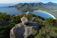Oceania, Australia; Australian, Tasmania; Coles, Freycinet National Park , Mount Amos