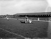 1954 - Soccer: Cork Athletic v Shamrock Rovers at Glenmalure Park