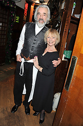 ROGER LLOYD PACK and SHEILA REID at One Night Only at The Ivy held at The Ivy, 1-5 West Street, London on 2nd December 2012.