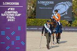 Ehrens Rob, NED<br /> Longines FEI Jumping Nations Cup Final<br /> Barcelona 2021<br /> © Hippo Foto - Dirk Caremans<br />  03/10/2021