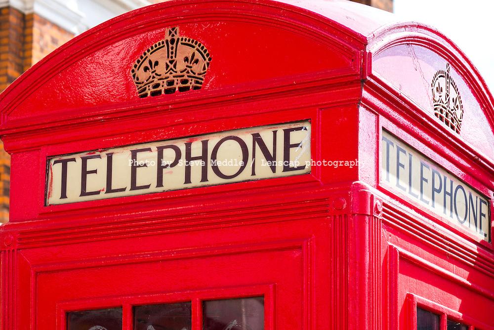 Red London Telephone Box - Aug 2013.