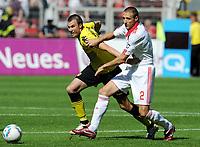 Bundesliga; Borussia Dortmund - 1. FC Nürnberg<br /> <br /> v.l. Kevin Grosskreutz, Timmy Simons (Nuernberg)<br /> <br /> <br /> <br /> Norway only