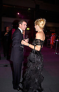 Prince Andrew and Tania Bryer, Fundraising party with airline theme in aid of the Old Vic and to celebrate the appointment of Kevin Spacey as artistic director.  <br />Old Billinsgate Market.  5 February 2003. © Copyright Photograph by Dafydd Jones 66 Stockwell Park Rd. London SW9 0DA Tel 020 7733 0108 www.dafjones.com